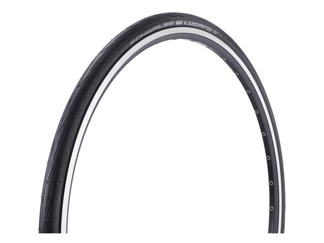 "SCHWALBE Lugano Active K-Guard Bike Tyre 28"" folding black"